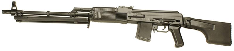 Пострелять из ручного пулемета Калашникова (РПК, Вепрь)