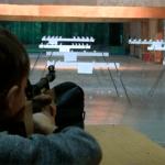 Силуэтная стрельба в тире Измайлово
