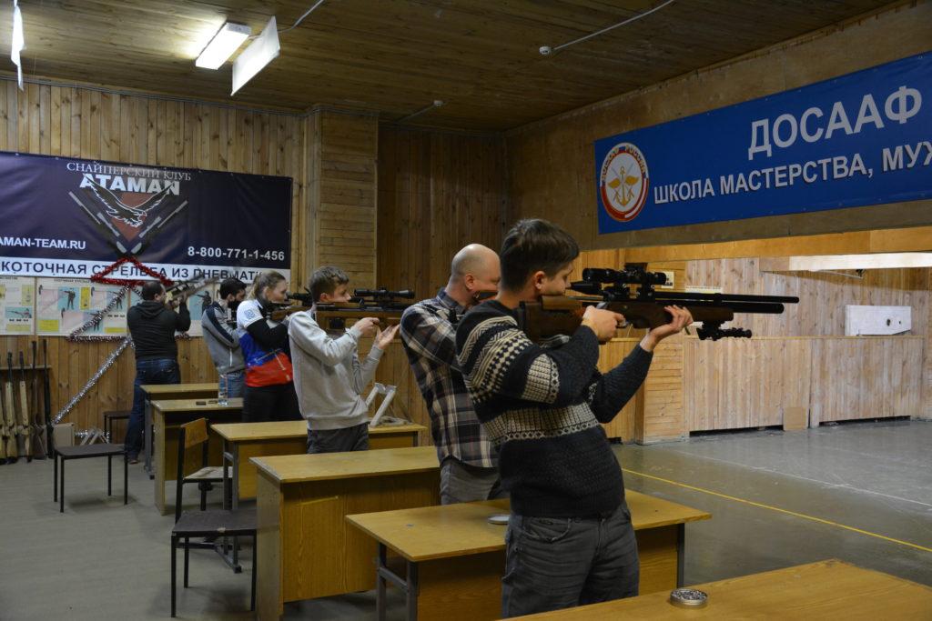 3-тий этап по силуэтной стрельбе в Московском стрелковом клубе Измайлово