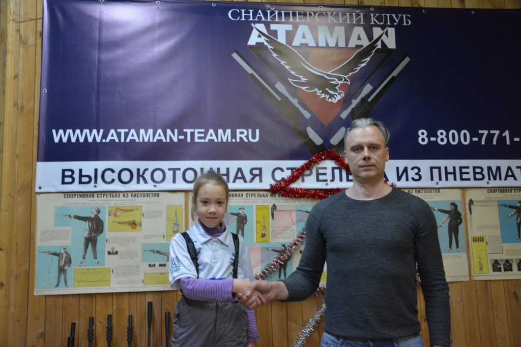3-тий этап по силуэтной стрельбе в Московском тире Измайлово