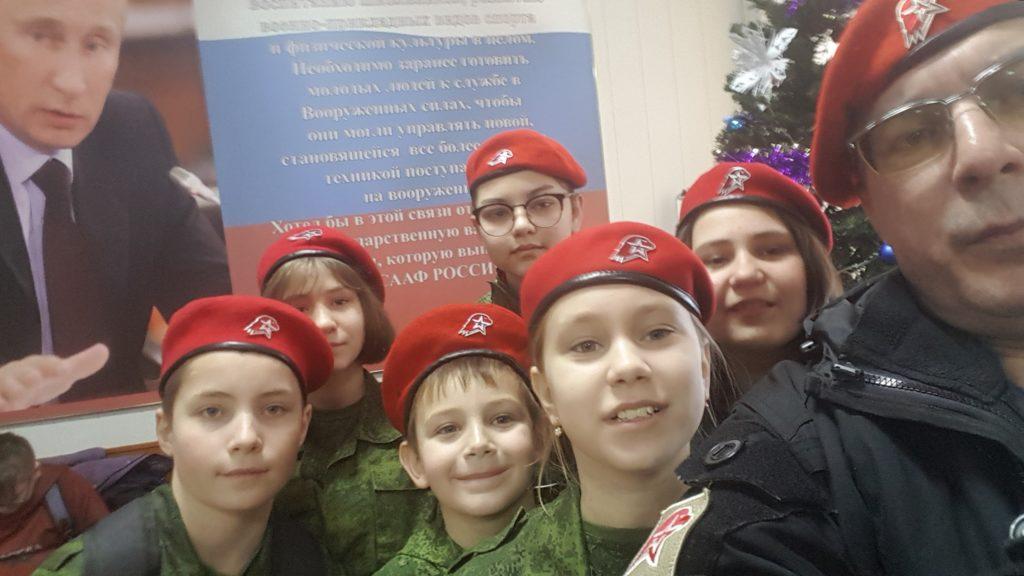 Стрельбы юнармии в тире Измайлово ВАО Москва